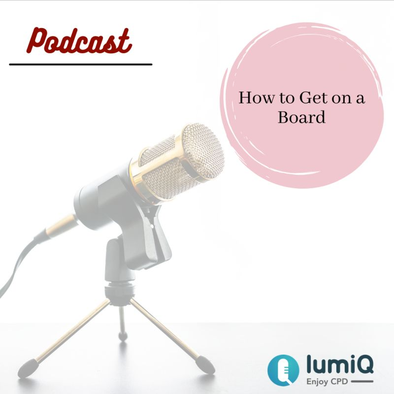How to Get on a Board Podcast